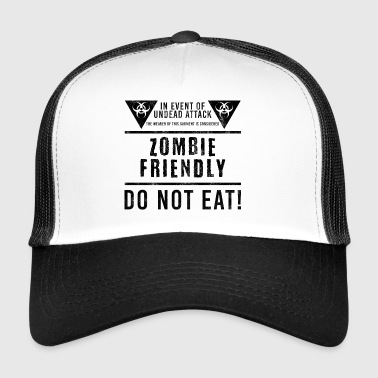 Zombie: In Event Of Undead Attack, The Wearer Of - Trucker Cap