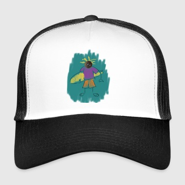 surfing 3 - Trucker Cap