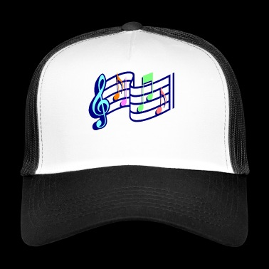 Sheet music - Trucker Cap