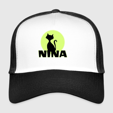 Nina Name First name - Trucker Cap