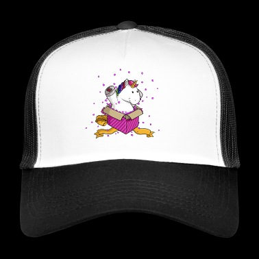 Surprise Unicorn Comic - Trucker Cap