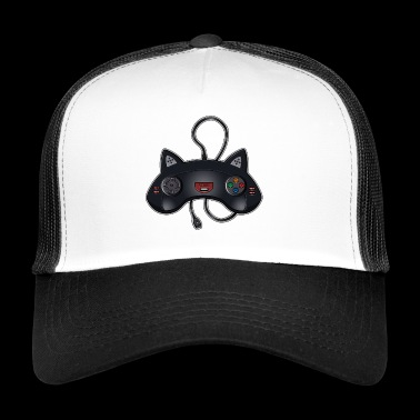 Cat Joystick - Trucker Cap