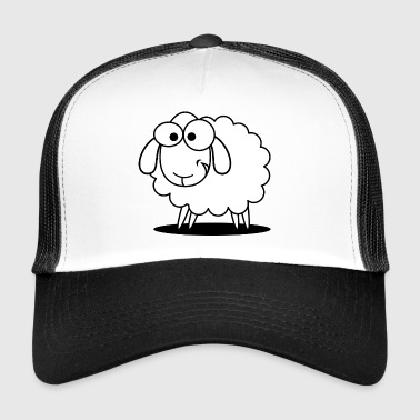 sheep, sheep, - Trucker Cap