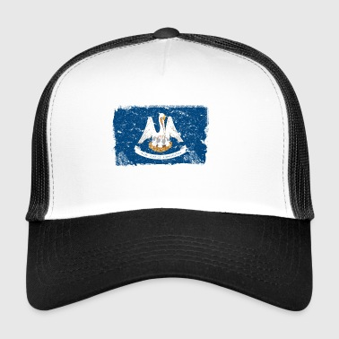 Louisiana Vintage Flagge - Trucker Cap