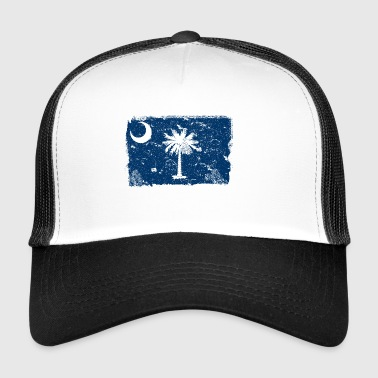 South Carolina Vintage Bandiera - Trucker Cap