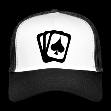 Card game spades sheet - Trucker Cap