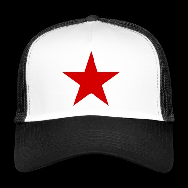 Star red, red star - Trucker Cap