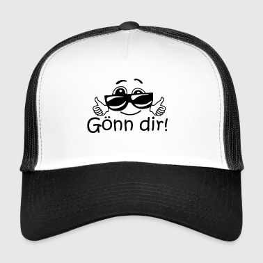 Treat yourself - cool slogan for all occasions - Trucker Cap