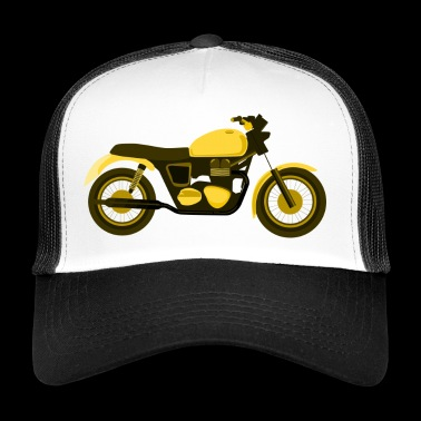 Yellow motorcycle - Trucker Cap