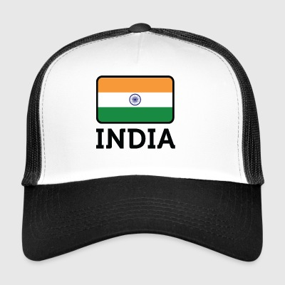Drapeau national de l'Inde - Trucker Cap