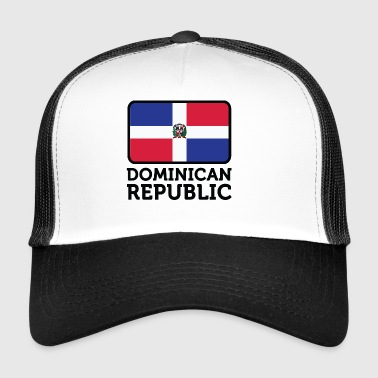 Nationalflagge der Dominikanischen Republik - Trucker Cap