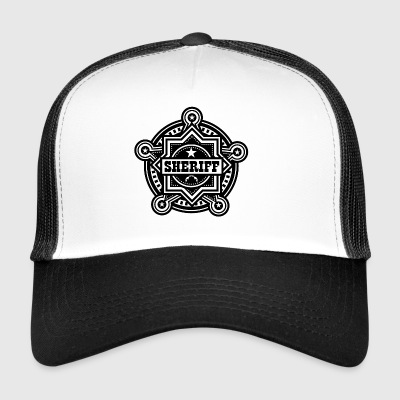 Sheriff eller Marshall Badge - Trucker Cap