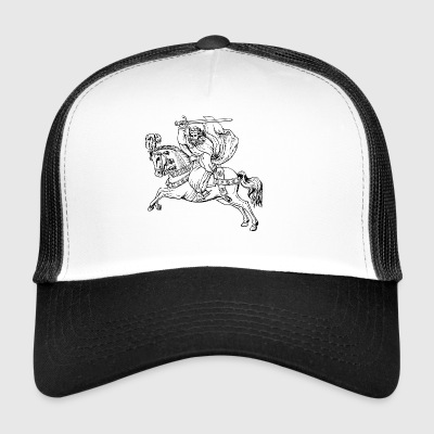 riding riding horse horse knight rider177 - Trucker Cap