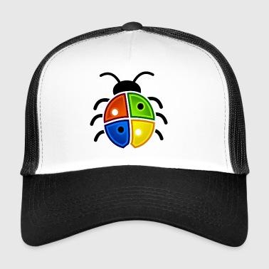 Windows Marienkäfer - Trucker Cap