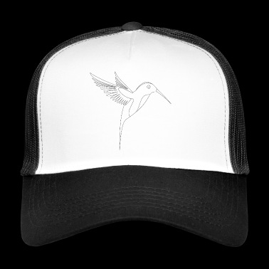 Hummingbird exotic bird - Trucker Cap
