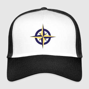Goldener Kompass - Trucker Cap