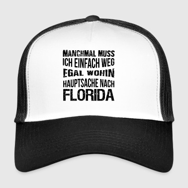 T-Shirt Florida - Trucker Cap