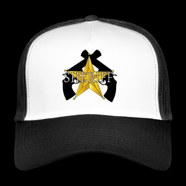 Sheriff Guns logo - Trucker Cap