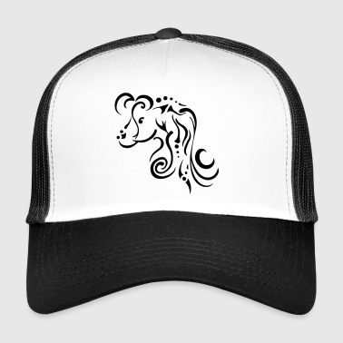 Mare, clean tribal design - Trucker Cap