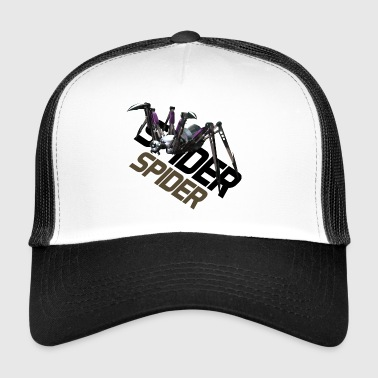 Spider angrep - GameArt - Trucker Cap