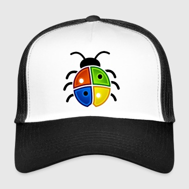Windows Ladybug - Trucker Cap
