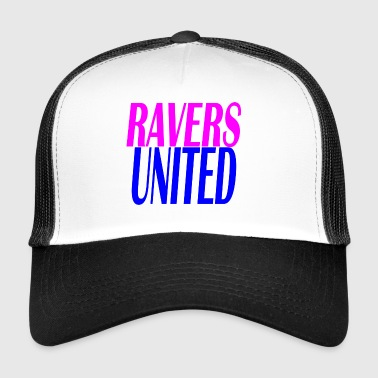 ravers united - Trucker Cap