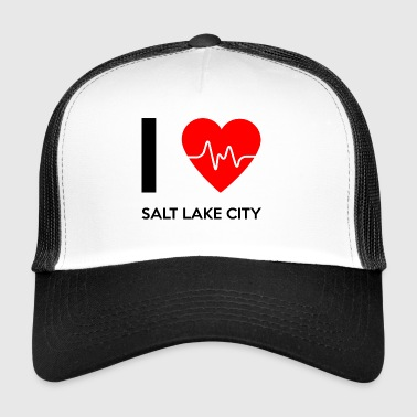 J'aime Salt Lake City - I love Salt Lake City - Trucker Cap