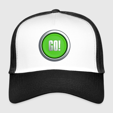 Go Button - Trucker Cap