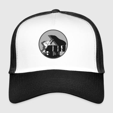 Teddy pianista - Trucker Cap