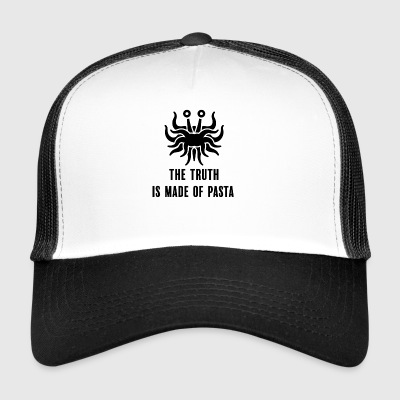 The truth is made of pasta with stroke - Trucker Cap