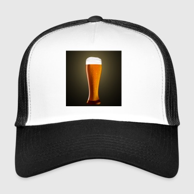 Beer glass - Trucker Cap