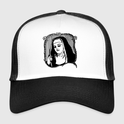 Marie picture nun - Trucker Cap