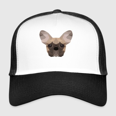 French Bulldog Low Poly - Trucker Cap