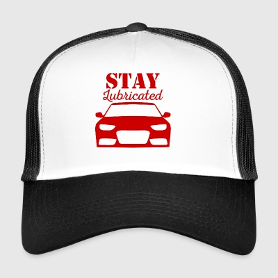 Mechaniker: Stay Lubricated - Trucker Cap
