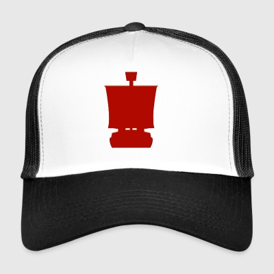 Pirate Schooner - Trucker Cap