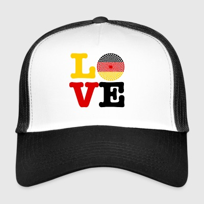 GERMANY HEART - Trucker Cap