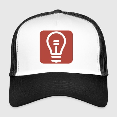 Zurkow Light Bulb Logo - Trucker Cap