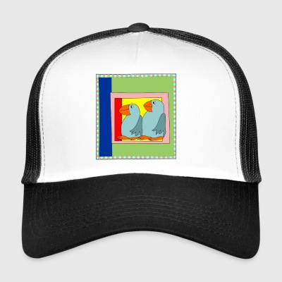 Colorart1 - Trucker Cap