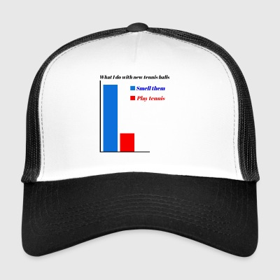 Tennis stat 1 - Trucker Cap