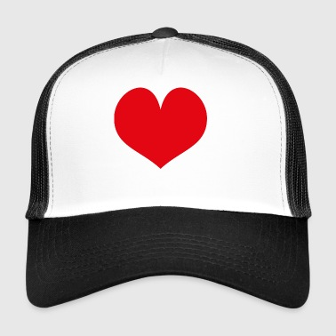 heart - Trucker Cap