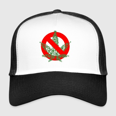 NO CANNABIS - Trucker Cap