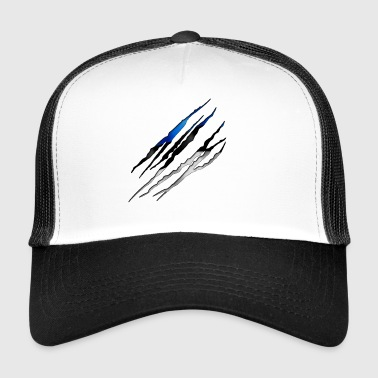 Estonia Slit open 001 AllroundDesigns - Trucker Cap