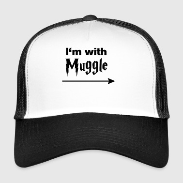 I'm with muggle - Trucker Cap