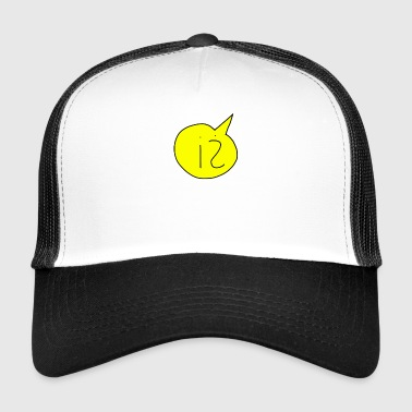 speech bubble - Trucker Cap