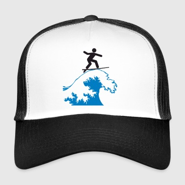 Wave Rider - Trucker Cap