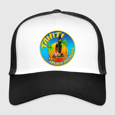 Tahiti Surfing team 02 - Trucker Cap