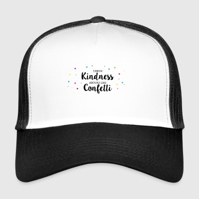 confetti colour - Trucker Cap