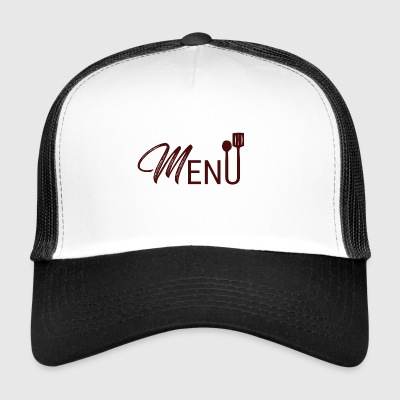 Cook / Chef: Menu - Trucker Cap