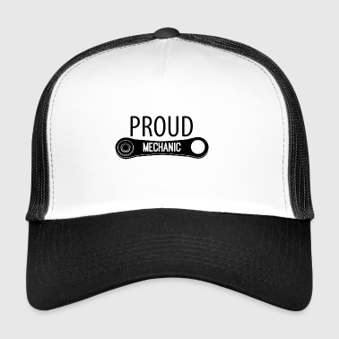 Mekaanikko: Proud Mechanic - Trucker Cap