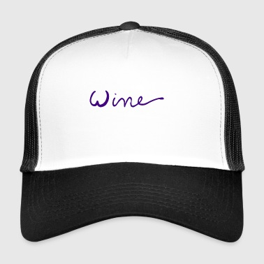 WINE art logo PAARS - Trucker Cap